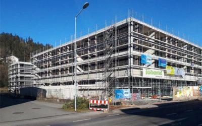 Baufortschritt – Tosters am Platz