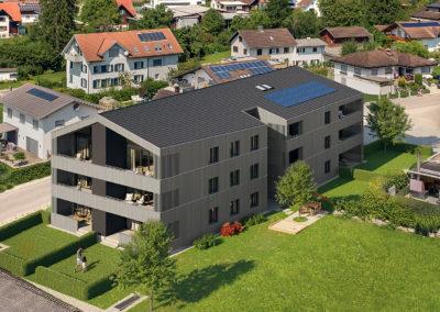 Hilti & Jehle Wohnanlage Hauptstrasse Muntlix Aussenansicht