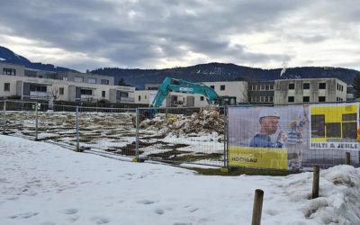 Baustart – Beim Mühlbach