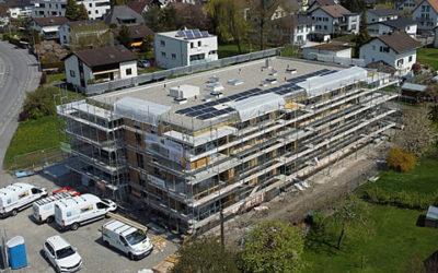 Baufortschritt – Kernstockstrasse