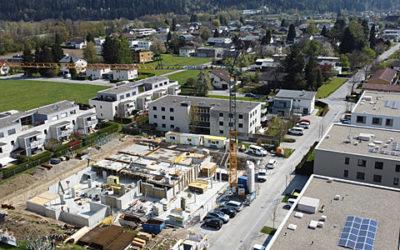 Baufortschritt April – Beim Mühlbach