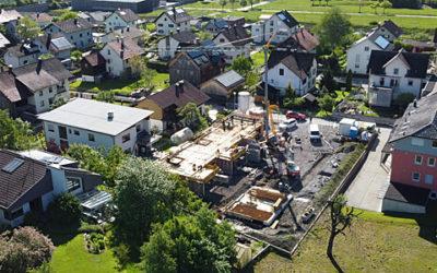 Baufortschritt Mai RH Gartenstrasse